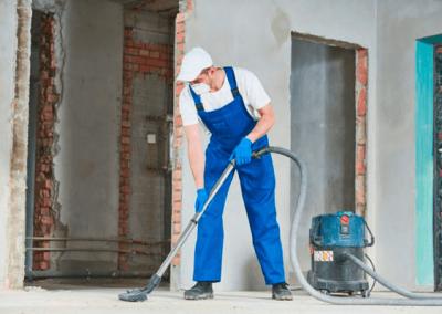 Equipamiento necesario para limpieza de fin de obra