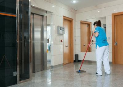 Servicio de limpieza para comunidades de vecinos