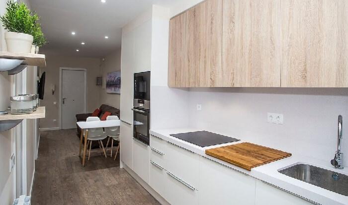 optimizar espacios en la cocina