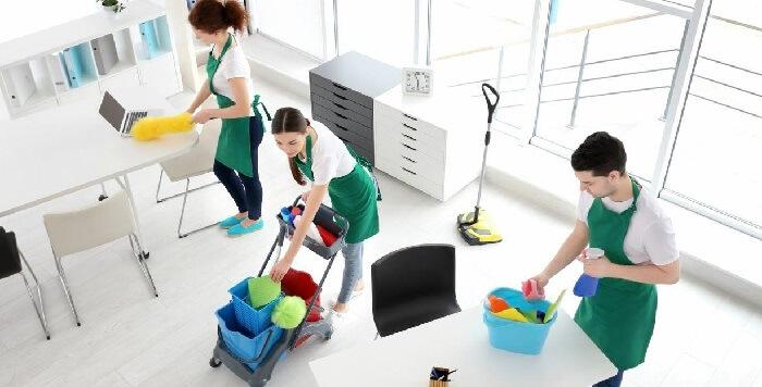 Servicio de limpieza de oficina en madrid