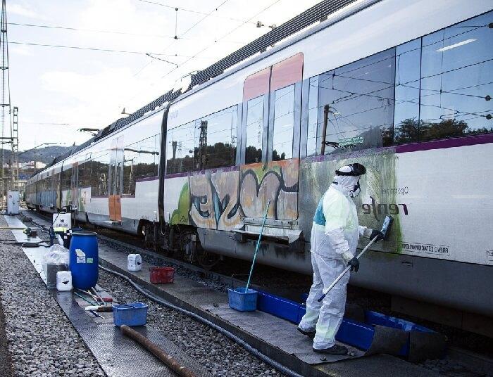 empresas de limpieza de graffitis en madrid